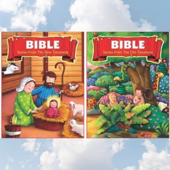 Bible for Children (Set of 2 Books)