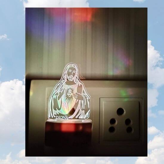 3D Jesus LED Lamp