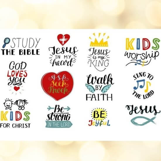 Christian Quotes Sticker