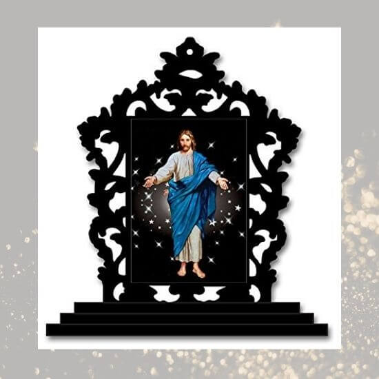 Jesus Christ Car Dashboard Statue