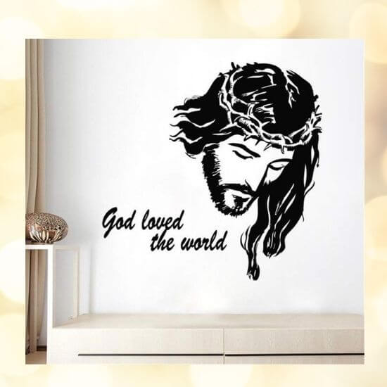 Jesus Christ Wall Decal